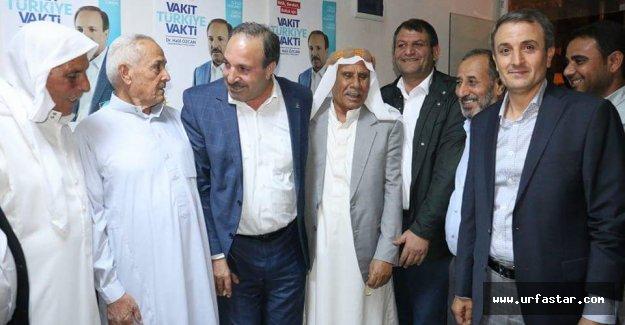 Özcan adına seçim bürosu açıldı.