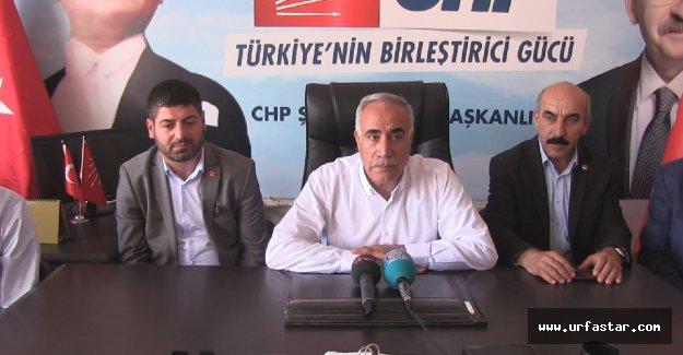 Şanlıurfa CHP'de bayramlaşma (video)