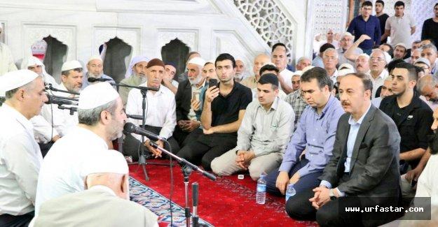 Urfa'da binlerce kişi kutladı...
