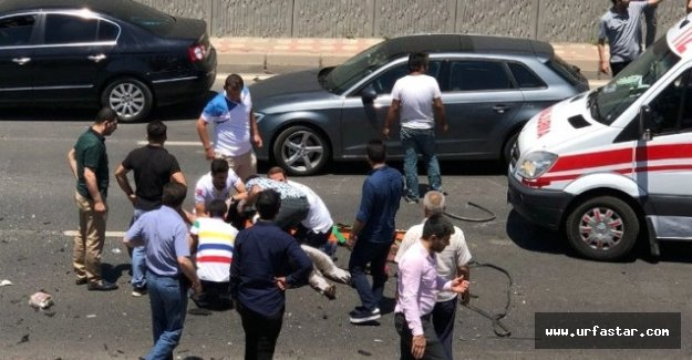 Urfa yolunda feci kaza, 2 Ölü 7 yaralı