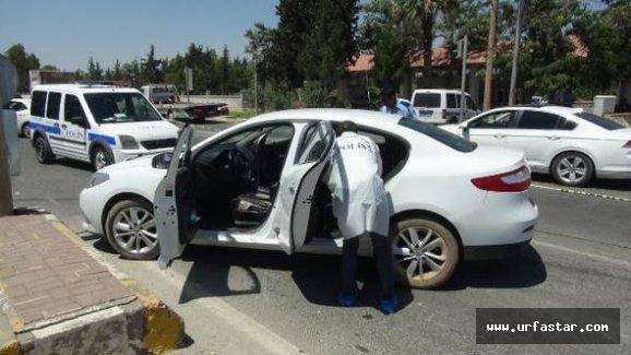 Urfa'da kırmızı ışıkta saldırıya uğradı!