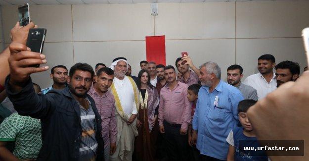 Urfa'nın fahri Bakanı var...