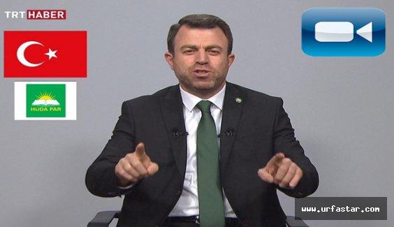 Urfalı Genel Başkan, TRT'de konuştu...