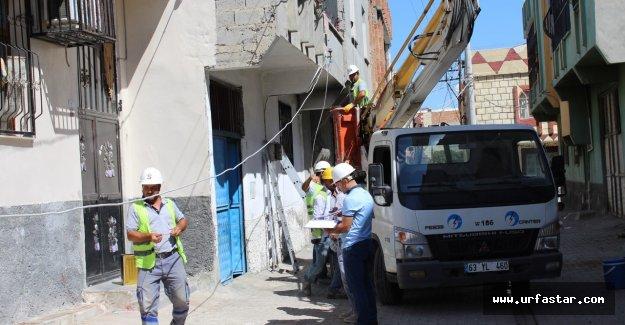 DEDAŞ'tan 4 mahalleye 3.4 Milyon TL yatırım