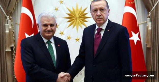Erdoğan'dan Yıldırım'a...