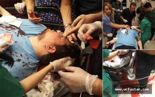 Urfa'da doktoru travmaya soktular!