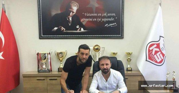Urfa'ya veda etti, yeni takımına imza attı