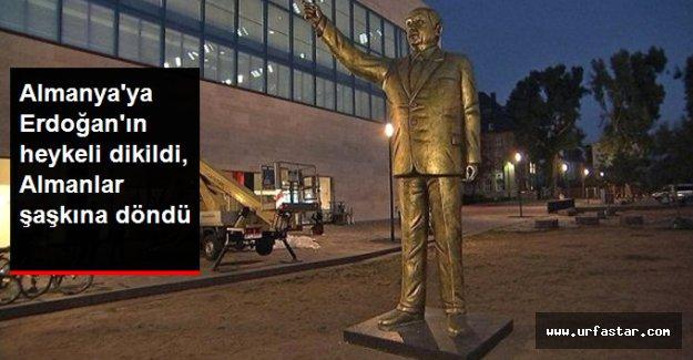 Başkan Erdoğan'ın heykeli bakın nereye dikildi?