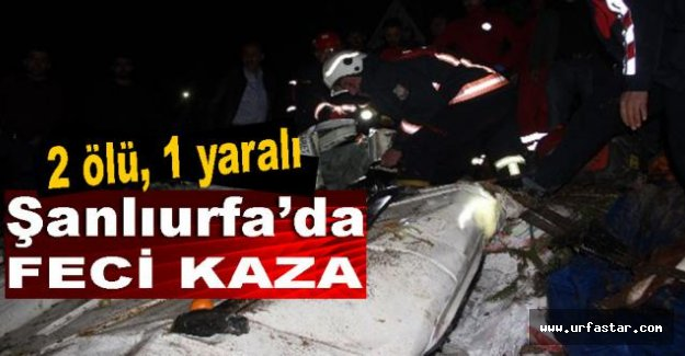 Feci Kaza 2 Ölü 1 Yaralı