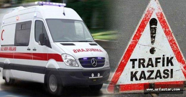 Siverek'te Kaza 1 Yaralı