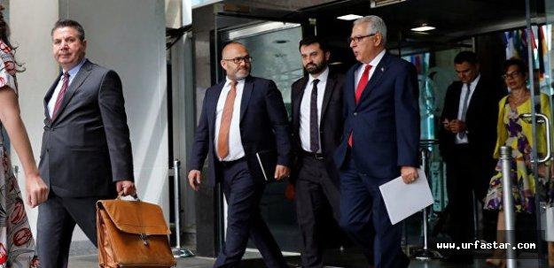 Türk heyeti, şantajla karşılaştı