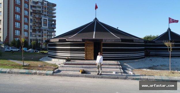 Urfa'ya Türkmen otağı kuruluyor...