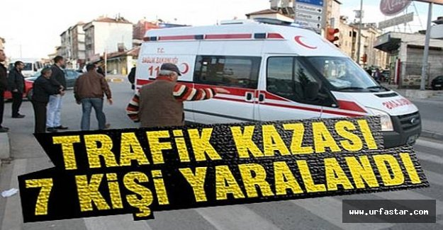 Viranşehir'de  feci kaza...