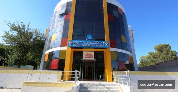 Akçakale Belediyesi Kreş ve Gündüz Bakımevi Açıldı