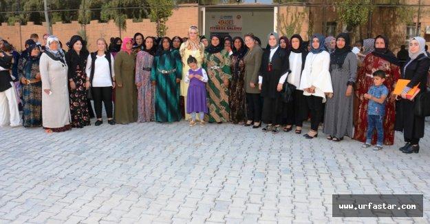Akçakale'de Kadına Sosyal Destekler Ve Kamuya Erişim Semineri Düzenlendi