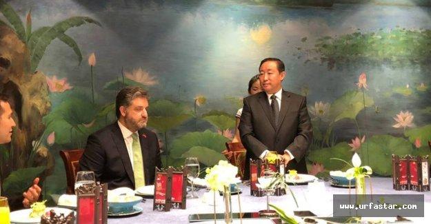 Çinli Bakanı ağırladı...