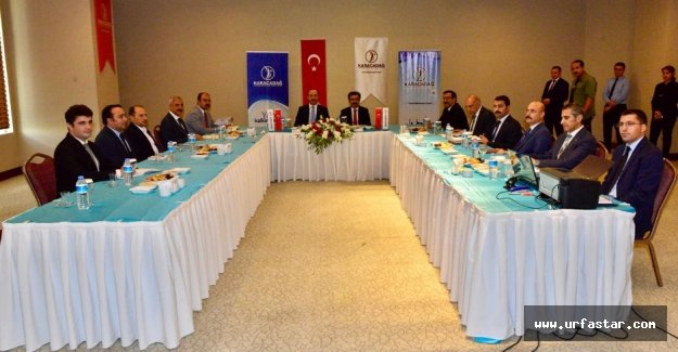 O toplantı Urfa'da yapıldı