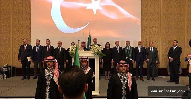 Özcan Meclisi temsilen katıldı...