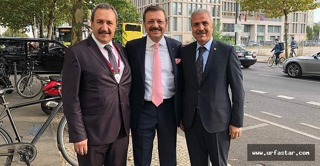 Urfa'dan iki Başkan katıldı...