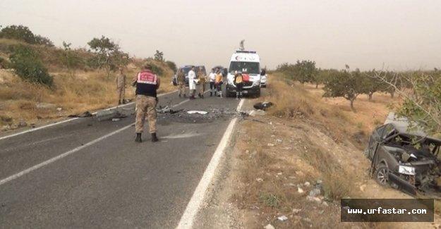 Birecik'te Kaza 2 ölü, 5 yaralı