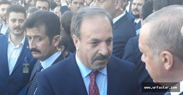 Urfa olayları Erdoğan'a iletildi...