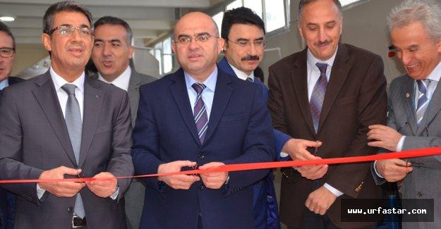 Bölgedeki tek tesis, Harran Üniversitesinde açıldı