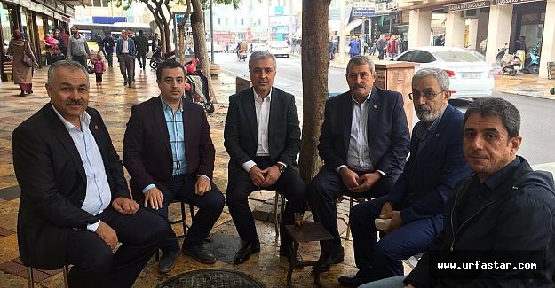 Gök'Siyasi tecrübemi Urfa'ya harcamak istiyorum'