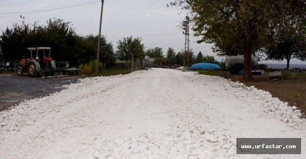 Hilvan Belediyesi Kırsal Mahalle Çalışmalarına Devam Ediyor