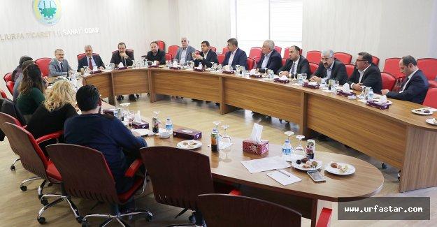 Şanlıurfa Oda ve Borsa Müşterek Toplantısı yapıldı