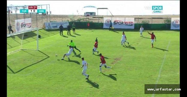 Urfa Vekili 5 gol attı...