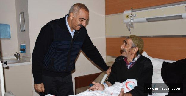 Başkan Bayık'tan hastalara moral ziyareti