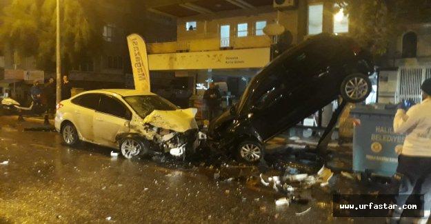 Emniyet caddesinde şaşırtan kaza!..