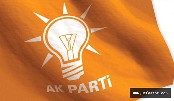 Ak Parti Urfa ilçe adaylarıyla ilgili flaş gelişme...