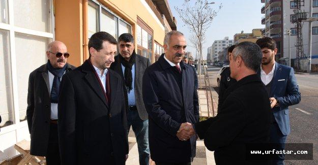 Başkan Bayık, esnafları ziyaret etti