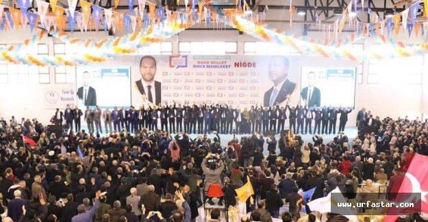 Urfa vekili adayları tanıttı...