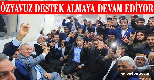 MHP Vekilleri Harran'a çıkarma yaptı...
