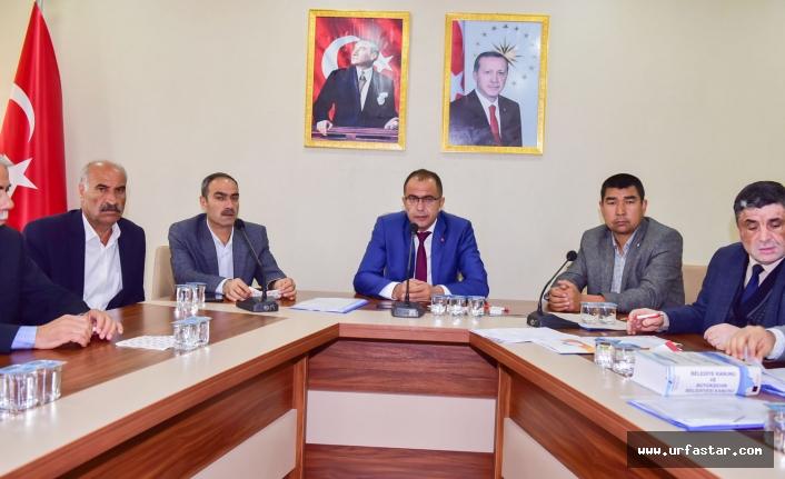 Ceylanpınar Belediyesi meclisi toplandı