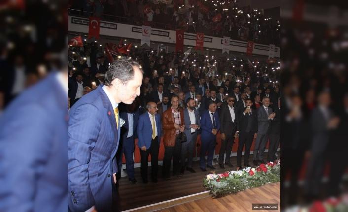 Erbakan Urfa'da kongreye katıldı