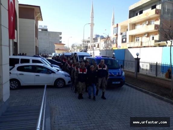 Urfa'da 27 kişi gözaltına alındı