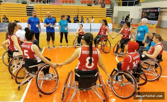Urfalı engelli milli takıma seçildi