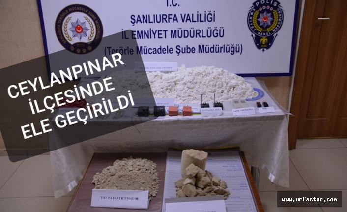 HDP'li meclis üyesinin evinden patlayıcı madde çıktı!