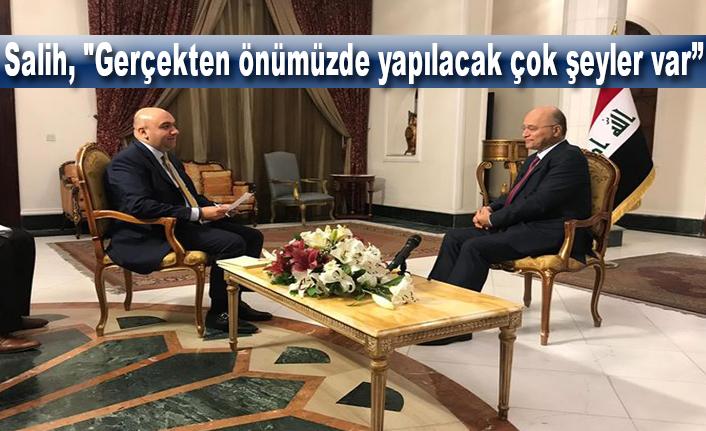 Irak Cumhurbaşkanı'ndan Flaş Türkiye açıklamaları