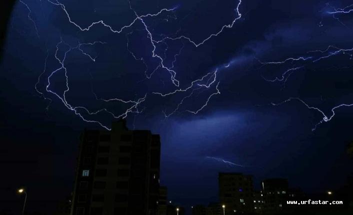 Urfa'da gök böyle gürledi...