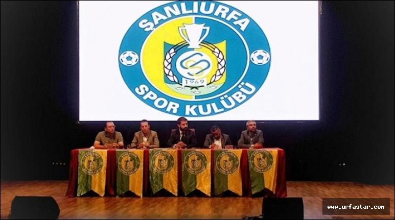 Urfaspor'da yeni dönem…