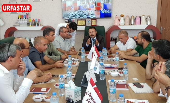 Aksu, en güçlü temsilcileri Urfa'ya davet etti...