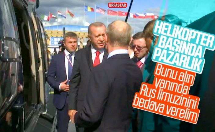 Erdoğan ile Putin arasındaki ilginç dialog