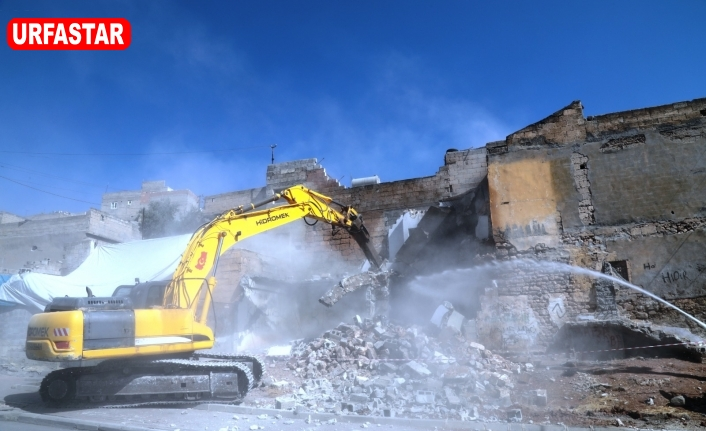 Urfa'da yıkıma başlanıldı!