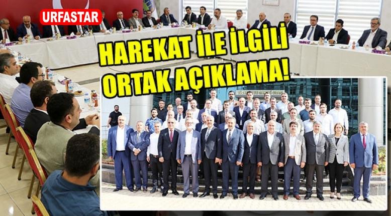 Başkanlar Mehmetçik İçin Tek Yürek Oldular