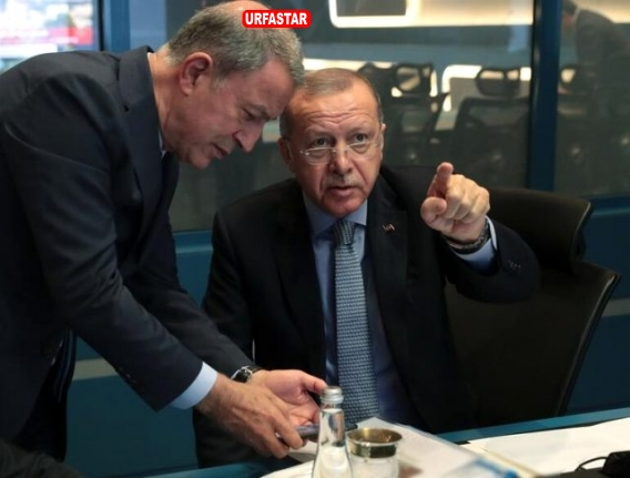 Cumhurbaşkanı Erdoğan an bean takip ediyor...