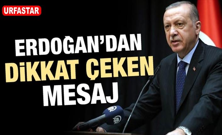 Cumhurbaşkanı Erdoğan net konuştu...